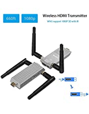Air Prime 5.8GHz Wireless HDMI Video Transmitter Receiver IR Extender up to 200M / 656FT hdmi extender HDMI Converter HDMI Cable