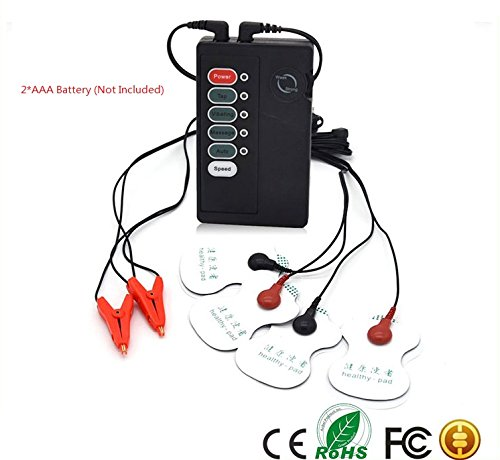 365Cor(TM) Electric Pulse nipple Cramp Electric-Sho ck paste pads vibrating sexual toy