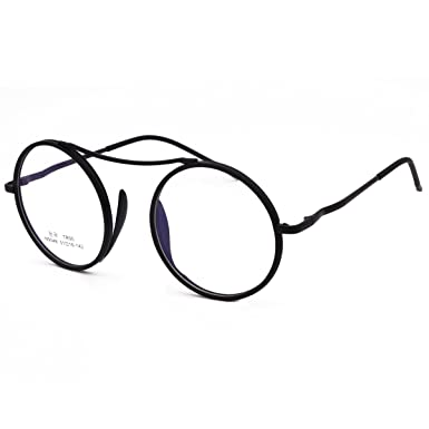 Amazon.com  VINN Eyeglasses Round Oversize Retro Classic Unique ... 402074e640473