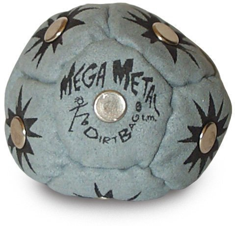 World Footbag Mega Metal Dirtbag by World Footbag