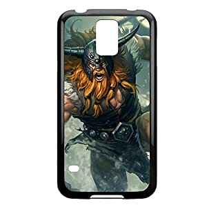 Olaf-001 League of Legends LoLDiy For SamSung Note 4 Case Cover Plastic Black