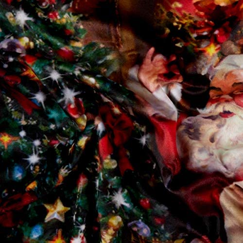 "35/"" Fabric Panel Nick Santa Claus Christmas Hoffman Digital Ol/' St"