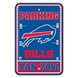 Fremont Die NFL Buffalo Bills Plastic Parking Sign