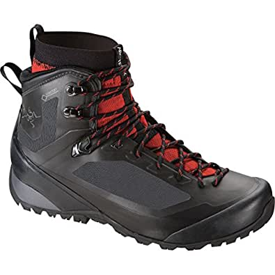 Arc'teryx Bora2 Mid Hiking Boot - Men's Black/Cajun 8.5