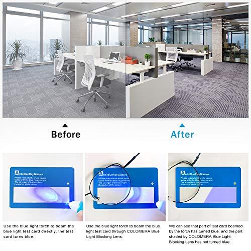 Blue Light Blocking Glasses Women, Gaming Computer Reading Fake Glasses for Women Men Non Prescription Anti Eyestrain Blue Ray (Black)
