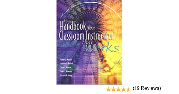 Workbook differentiated instruction worksheets : A Handbook for Classroom Instruction That Works: Robert J. Marzano ...