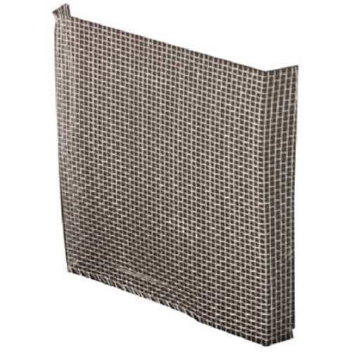 Window Screen Repair Aluminum Patch 3-Inch x 3-Inch, Gray (Pack of 5)
