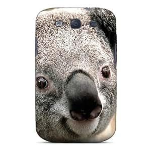 Flexible Tpu Back Case Cover For Galaxy S3 - Animals Australia Koalas