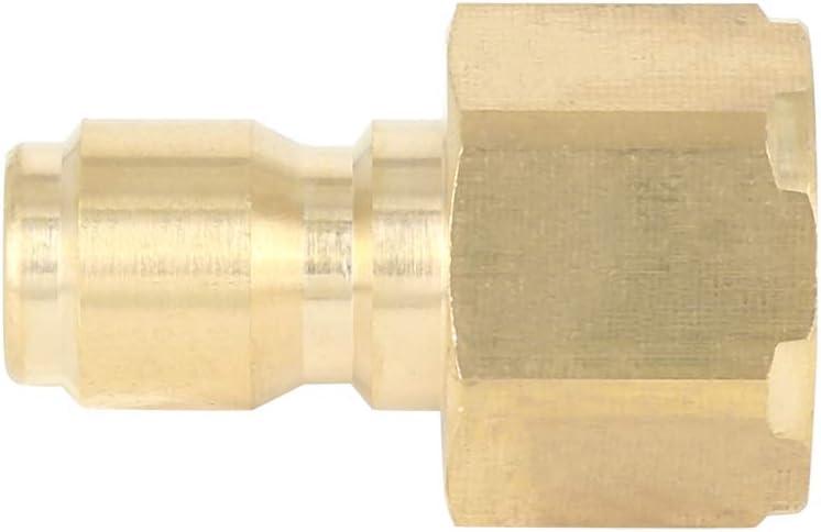 X AUTOHAUX 2pcs M22 Internal Male Thread Car Pressure Washer 3//8 Quick Connect Plug
