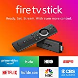 Fire TV Stick with all-new Alexa Voice Remote, streaming media player