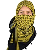 Mato & Hash Military Shemagh Tactical Desert 100% Cotton Keffiyeh Scarf Wrap