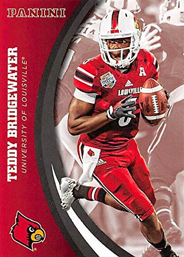 Teddy Bridgewater football card (Louisville Cardinals) 2016 Panini Team Collection #15