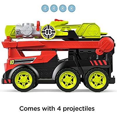 Fisher-Price Rescue Heroes Transforming Fire Truck with Lights & Sounds, Multicolor, Model:GFW30: Toys & Games