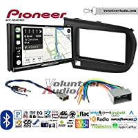 Volunteer Audio Pioneer AVIC-W8400NEX Double Din Radio Install Kit with Navigation, Apple CarPlay and Android Auto Fits 2010-2013 Honda Insight