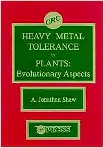 heavy metal tolerance in plants evolutionary aspects pdf