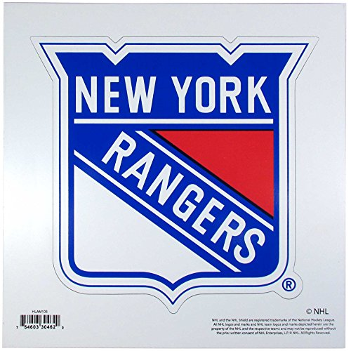 Nhl Magnets (NHL New York Rangers 8 inch Automotive Magnet)