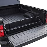 Red Hound Auto Full-Size Truck Bed Storage Cargo Organizer Compatible with Ford Chevrolet GMC Dodge Ram Toyota Nissan Universal for 55 Inch Wide or Wider Secures and Protects Groceries Tools and More
