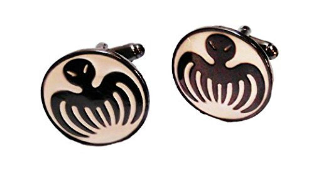 James Bond 007 SPECTRE Symbol Metal/Enamel Cufflinks with Gift box