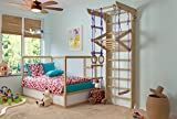Wall Bars for Kids, Wood Stall Bar, Wooden