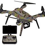 MightySkins Protective Vinyl Skin Decal for 3DR Solo Drone Quadcopter wrap cover sticker skins Creepy Crawly