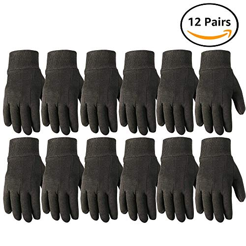 Wells Lamont Work Gloves, Jersey Basic, Wearpower, 12 Pair Pack - Gloves Jersey Cotton