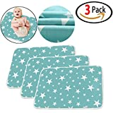 "3 Packs, Changing Pad - Waterproof Diaper Changing Pad Liners - Baby Kid Mattress Waterproof Changing Pad Baby Urine Sheet Protector Menstrual - Extra Large (20"" x 28"")"