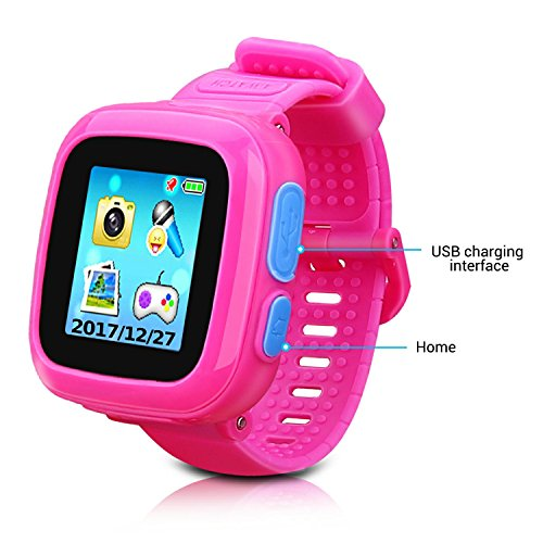 Kids Smartwatch,Smart Watch with Games,Girls Boys Smart Watches with Digital Camera Children's Smart Wrist Kids Gifts Learning Toys by YNCTE (Image #1)