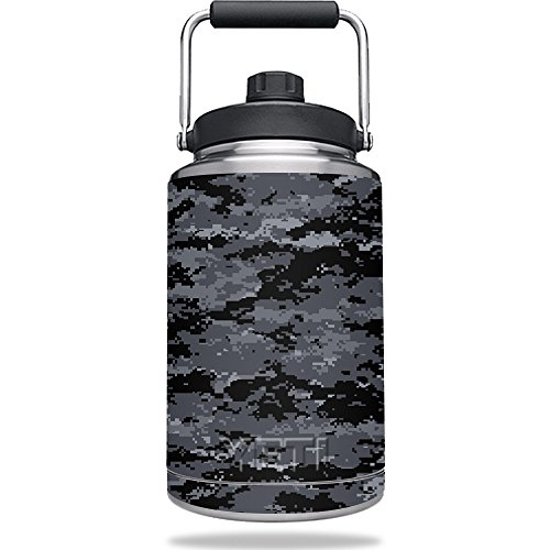 Skin for YETI Rambler One Gallon Jug - Digital Camo | MightySkins Protective, Durable, and Unique Vinyl Decal wrap cover | Easy To Apply, Remove, and Change Styles | Made in the USA