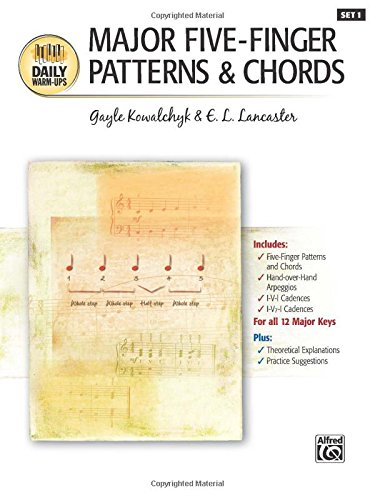 Major Five-Finger Patterns & Chords (Daily Warm-ups) ()