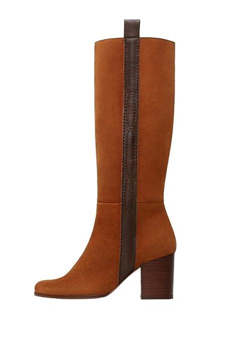 scarpe sportive aa6a4 8706f ManGo, Stivali Donna Marrone Marrone, Marrone (Marrone), 40 ...