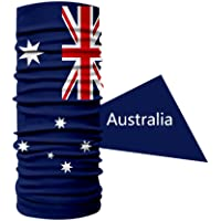 Australia Flag Sports Cycling Australian Headband Sweatband Headwear