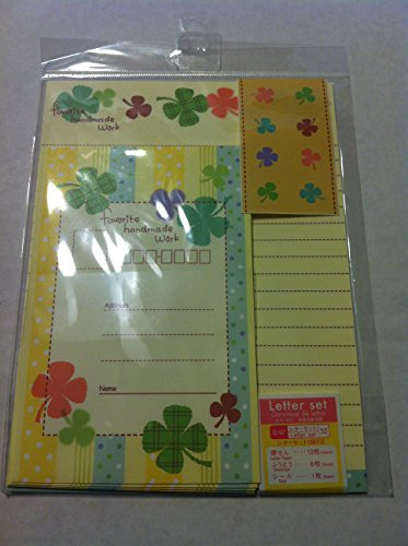 12 Cute Lovely Kawaii Flower Pattern Writing Stationery Paper with 6 Envelope