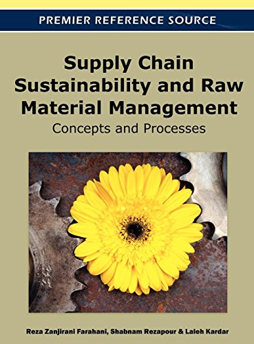 Supply Chain Sustainability and Raw Material Management: Concepts and Processes