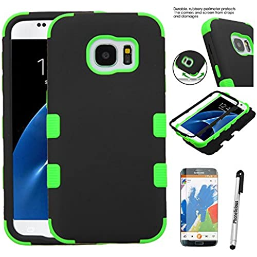 S7 Case, Phonelicious (Tm) SAMSUNG GALAXY S7 (G930) [Heavy Duty] [Shock Absorption] [Drop Protection] [Hybrid Armor] Rugged Impact Phone Tuff Sales