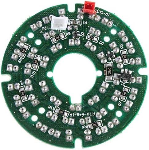 ZT-TTHG CCTVカメラSecurit木工ツールのための10個入り48 LED IR赤外線イルミ電球会