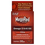 MegaRed 350mg Omega-3 Krill Oil, 90 softgels
