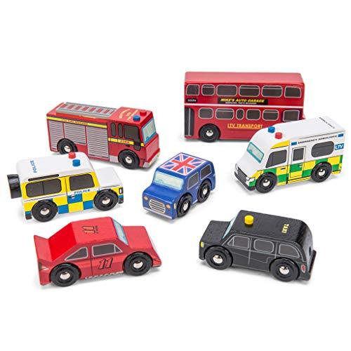 - Le Toy Van London Car Set