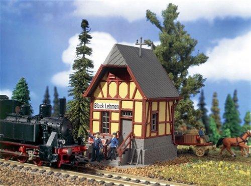 5769 - Vollmer H0 - Blockstelle Lehmen Modelleisenbahn / Aufbauten Modelleisenbahn / Bahn-Betriebswerke Modelleisenbahn / Sonstige bahntechnische Bauten
