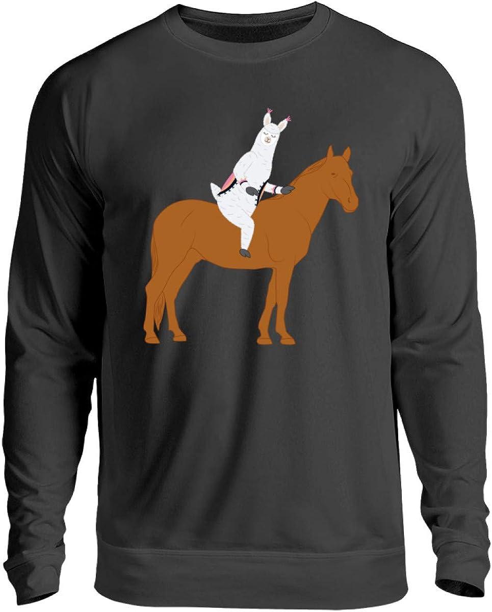 Chorchester - Jersey unisex para caballos y fans de Alpaka