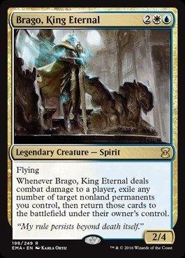 Magic: the Gathering - Brago, King Eternal (198/249) - Eternal Masters