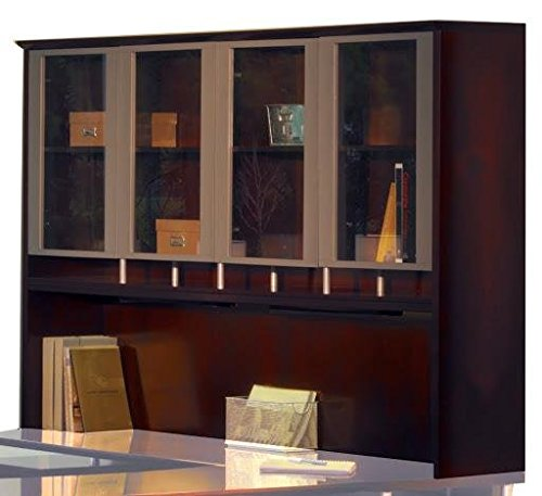 - MLNNH72MAH - Mayline Napoli Series Assmbld Hutch w/Glass Doors