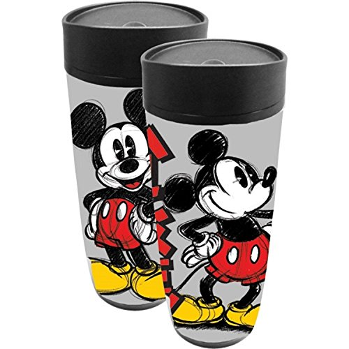 Disney Mikkup Mickey Mouse Classic 18 Ounce Tumbler Travel Mug