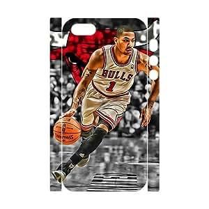 Customized case Derrick Rose Diy 3D Case for iPhone 5,5S UN842917
