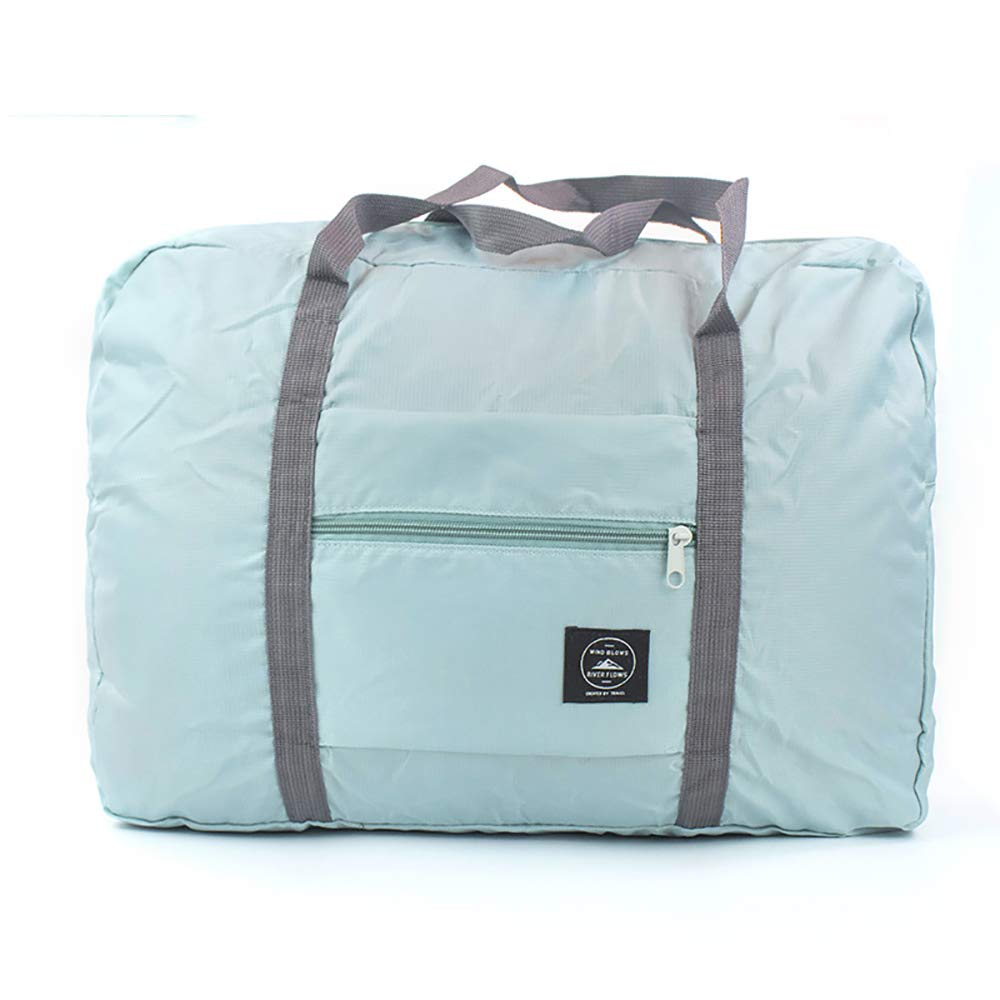 Foldable Travel Bag Zipper Around Tote Waterproof Storage Bag by Everone (Pink)