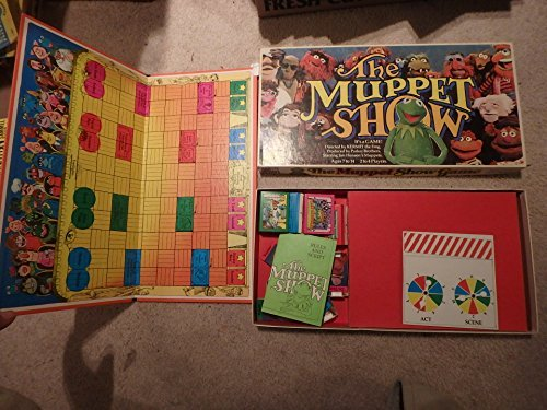 The Muppet Show Game by Parker Brothers