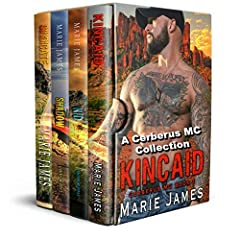 EXCLUSIVE BOX SET CONTENTKINCAID•Hero complex?•Possessive?•Not afraid to speak my mind?Check, check, and check.I'm also President of the Cerberus MC, a former Marine, and easy on the eyes with arms made to hold a woman tight. I'm the whole pa...