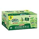 GoGo SqueeZ Organic Applesauce, Gluten Free, 20 Ct