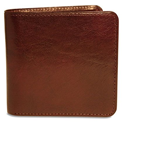 Sienna Collection Tri Fold (Jack Georges Sienna Collection Leather Hipster Wallet Cognac)