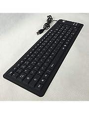 Overtop Teclado francés de silicona USB 2.0 enrollable de silicona teclado plegable para PC OUJ99