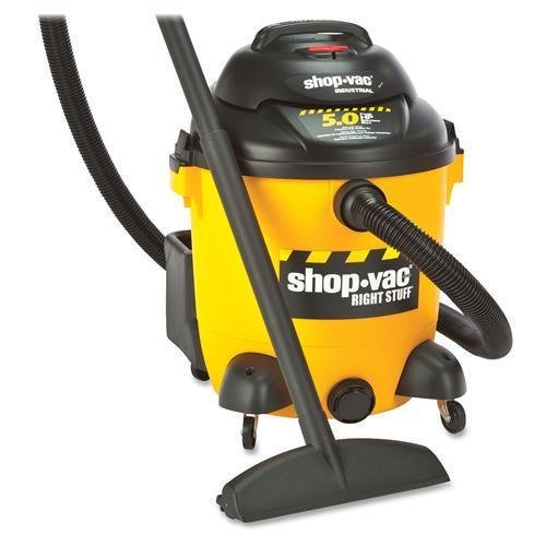 9625110 Shop-Vac Compact Vacuum Cleaner - 3.73 kW Motor - 8.90 A - 350 W Air Watts - 12 gal - Yellow, Black